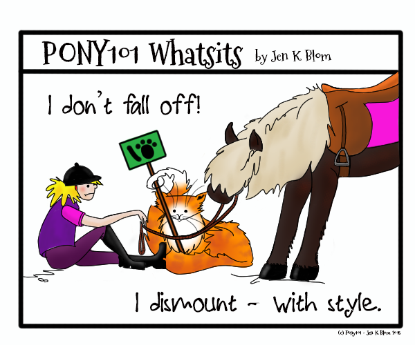 PONY101 Whatsits by Jen K Blom